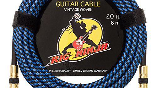 Guitar Cable – Premium Musical Instruments Cable, Electric Guitar ...